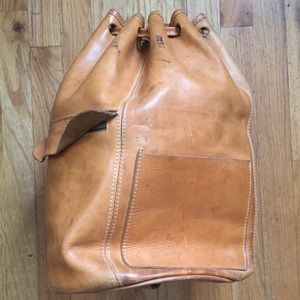 Custom Leather Sack